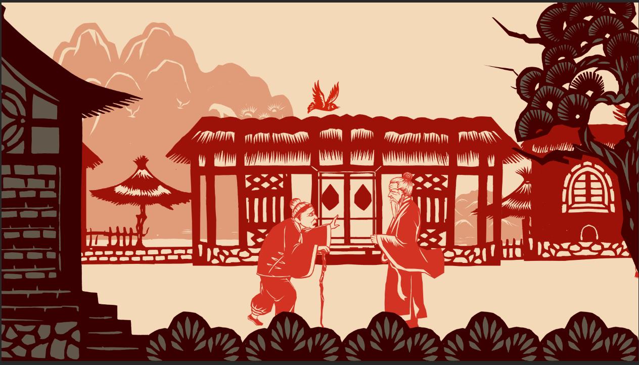 剪纸动画片《过年》向全球送祝福 宁夏剪纸惊艳世界!
